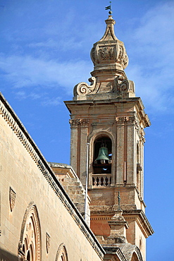 Malta, Mdina, Carmelite Church.