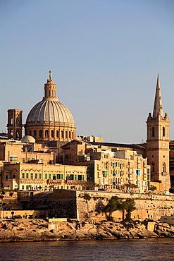 Malta, Valletta, Carmelite Church, St Paul's Pro-Anglican Cathedral.