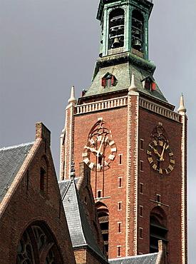 Netherlands, The Hague, Grote Kerk, church.