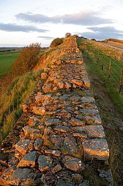 Hadrian's Wall, Lake District, Cumbria, UK