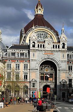 Belgium, Antwerp, Centraal Station.