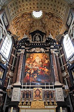 Belgium, Antwerp, St Carolus Borromeuskerk, church.
