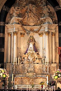 Belgium, Antwerp, Cathedral, interior.