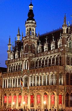 Belgium; Brussels; Grand Place, Maison du Roi.
