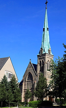 Canada, Ontario, Toronto, St Basil's Catholic Collegiate Church,.