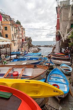 Riomaggiore,Cinque Terre,Italy,Europe.