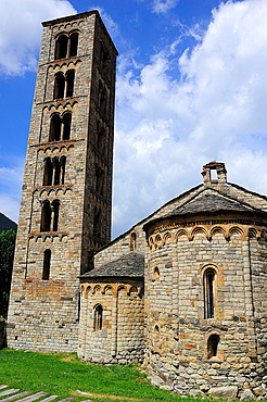Romanesque church of Sant Climent in Taull, Lleida province, Catalonia, Spain