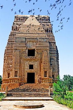 Teli-ka-Mandir temple, IX century, Gwalior, Madhya Pradesh, India