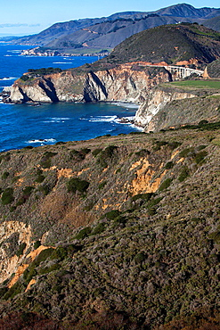 Californian coastline.
