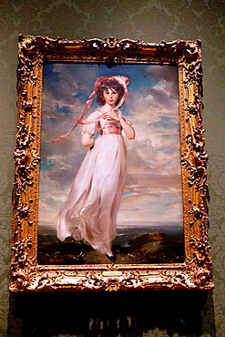Pinkie painting by Sarah Barrett Moulton (1794), The Huntington Library, Art Collection, and Botanical Gardens San Marino, California, United States of America.
