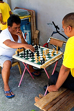 Ches in the Old Town of Manila, Philippines.