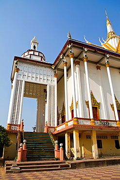 The Temple Wat Tuol Tom Poung in Phnom Penh, Cambodia.