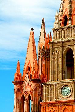 San Miguel De Allende St Michael Cathedral.