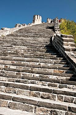 Great Wall of China at Huanghua Cheng or Yellow Flower, Xishulyu, Jiuduhe Zhen, Huairou, China.