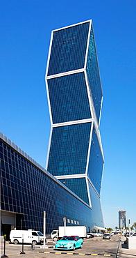 Qatar, Doha City, lagoon Plaza Towers.