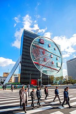 Korea, Seoul City ,Gang-nam Gu District, Park Tower Bldg.