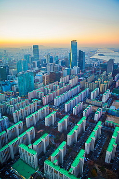 Korea, Seoul City, Yeouido Distric, The International Financial Center.