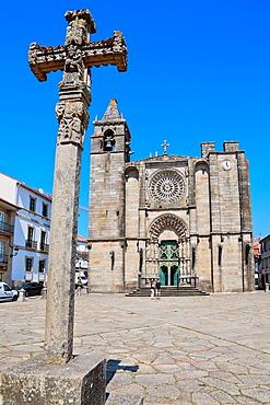 San Martino Church, Noia, A Coruna province, Galicia, Spain.