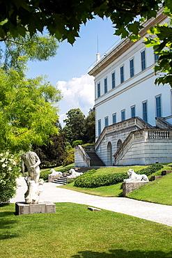 Building and gardens, I Giardini di Villa Melzi, Bellagio, Italy
