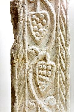 Relief. Museu Monografico de Conimbriga, Conimbriga city, Conventus Scallabitanus, Roman province of Lusitania, near Condeixa-a-Nova, district of Coimbra, Portugal,