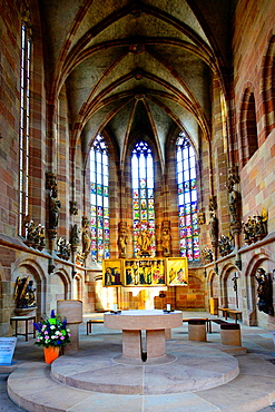 Church of our Lady Nuremberg Frauenkirche Nurnberg Germany Deutschland DE.