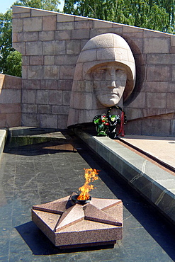 Monument to the Unknown Soldier in Samara, Samara Region, Rusian Federation