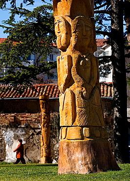 Mokarte park. Huarte. Navarra. Spain.