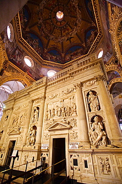 Europe, Italy, Marche, Loreto, Sanctuary Of The Holy House, The Holy House