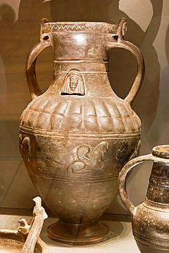 Europe, Italy, Tuscany, Siena, Santa Maria Della Scala, Archaeological Museum, Etruscan Museum, Chigi Zondadari Collection, Buccheri