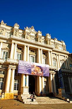 Palazza Ducale old town Genoa Liguria region Italy Europe.