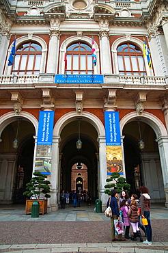 Palazzo Carignano houses Museo Nazionale del Risorgimento Italiano museum Turin city Piedmont region northern Italy Europe.