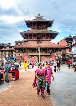 Bhimsen temple, Durbar Square, Patan, Lalitpur, Nepal.