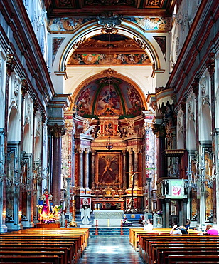 Cathedral, Amalfi, Campania, Italy.