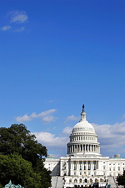 The dome of the United States Capitol, Washington D.C., USA.