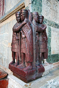The tetrarchs of the treasury of the Basilica of San Marco, Venice