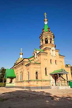 Alexy Russian Orthodox Church, Samarkand, Uzbekistan.