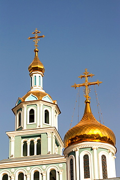 Saint Uspensky Sobor Russian Orthodox Assumption Cathedral, Tashkent, Uzbekistan.