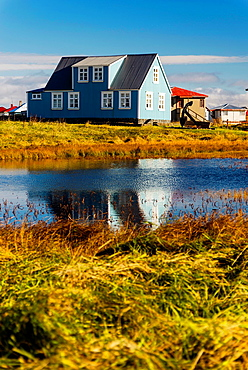 Sandgerdi village, Iceland.