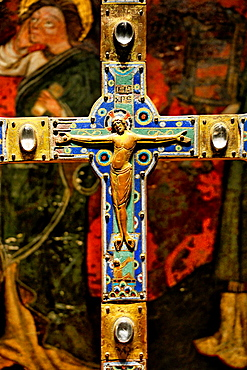 Processional cross, 15th century, National Museum of Reykjavik, Iceland.
