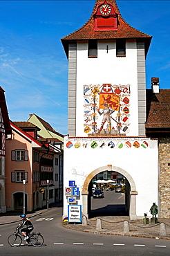 town of Sempach, traditional Swiss architecture, canton Luzern, Switzerland, Europe.