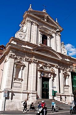 Santa Maria della Vittoria, Our Lady of Victory, designed by Bernini, Rome Italy.