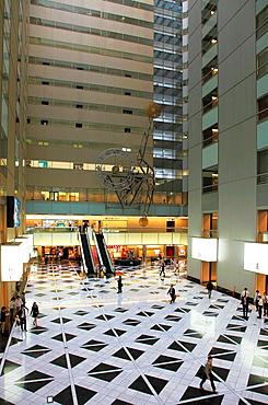 Japan, Tokyo, Shinjuku, NS Building, interior, lobby,.