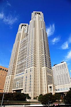 Japan, Tokyo, Shinjuku, Metropolitan Government Building,.
