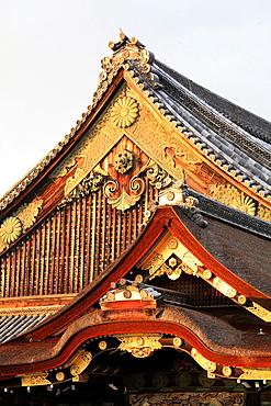 Japan, Kyoto, Nijo Castle, Ninomaru Palace,.