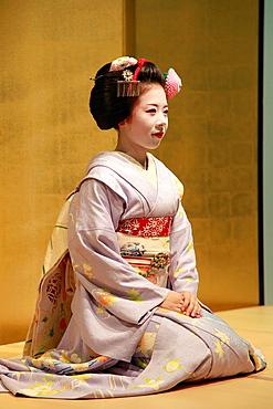 Japan, Kyoto, maiko, apprentice geisha,.