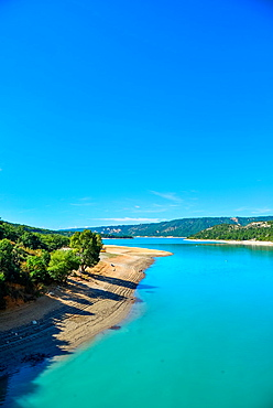lake St. Croix, Verdon, Alpes de Haut Provence, France