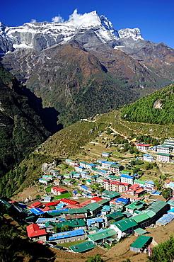 Namche Bazaar, Khumbu area, Solukhumbu District, Sagarmatha Zone, Nepal