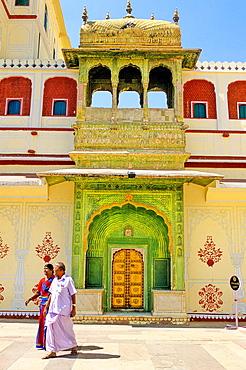 City Palace, Jaipur, Rajasthan state, India
