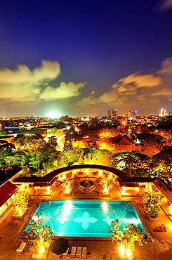 Colombo as seen from Taj Samudra hotel, Sri Lanka
