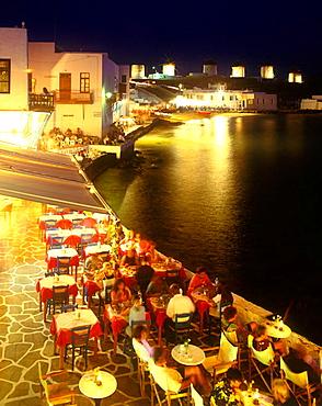 Alefkandra, Little Venice, Mykonos, Greece